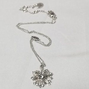Limited Edition Juicy Couture Snowflake Necklace